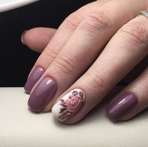 Fl Nail Art Design Gives Life To Your Nails By Adding White Polish On The Tips With Flower Details Them Don T Forget Add Simple Stones Or