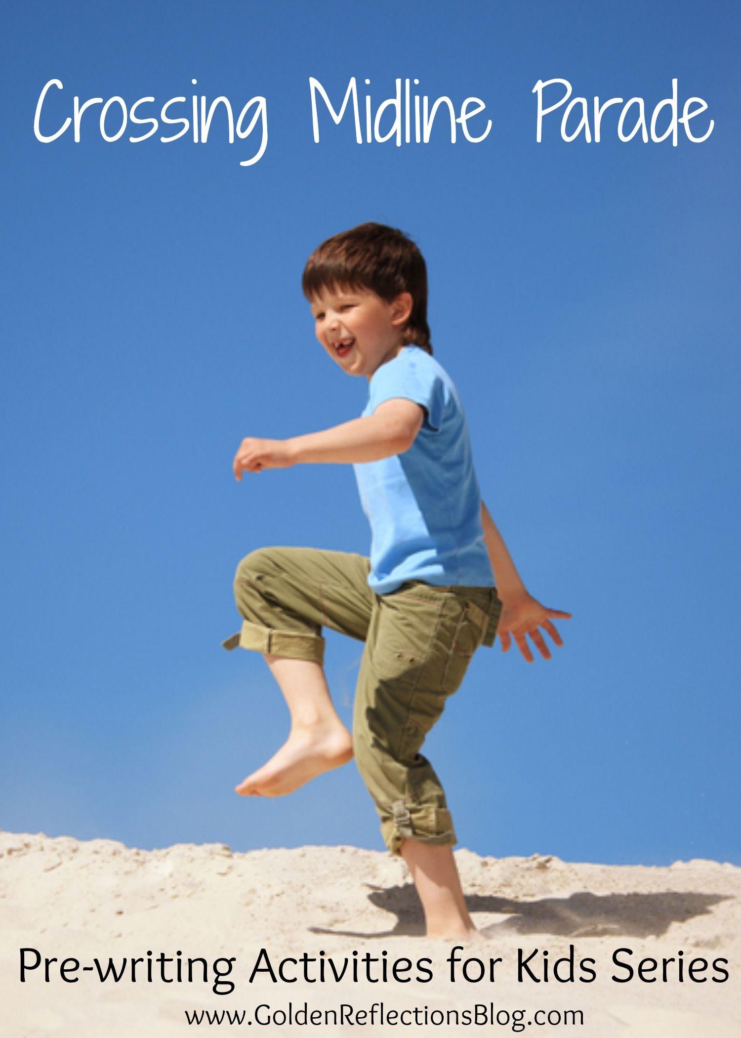 Pre Writing Activities For Kids Crossing Midline Activity