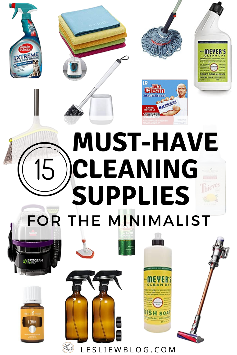 The Only Cleaning Supplies You Will Ever Need According To A Type A Minimalist Cleaning Supplies List Cleaning Supplies Checklist Bathroom Cleaning Supplies