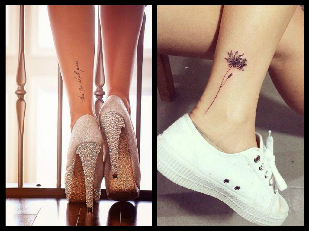 I tatuaggi sulla caviglia possono essere molto originali e sensuali, ma  quanto è doloroso farsene