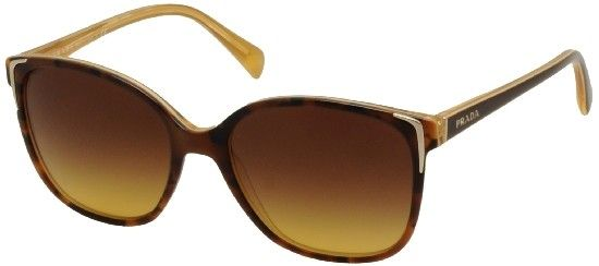 Prada Women's Havana/Brown Sunglasses! SPR01os Made in Italy  Amazing glasses will look great on the cruise!