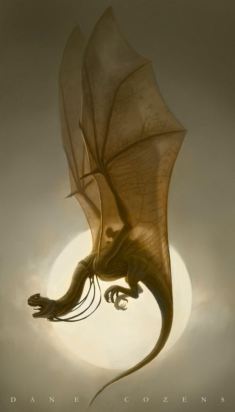 Dragon Rider, Dane Cozens on ArtStation at https://www.artstation.com/artwork/WPrnJ