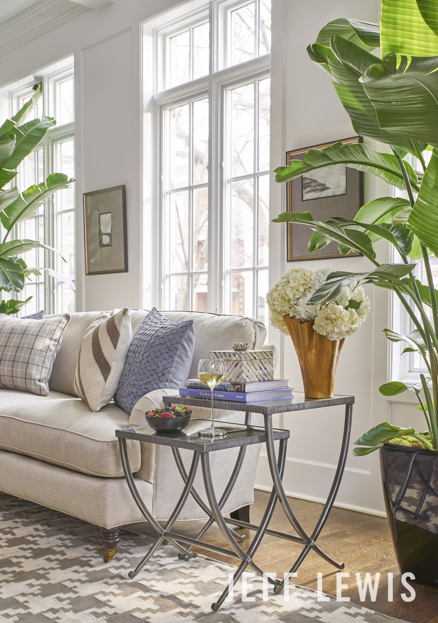 The Melrose Living Room Vignette Collaboration With Walter E