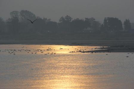 sunrise in travemunde foto auf leinwand drucken bilder fotoleinwand kunstdrucke günstig bild ziehen lassen