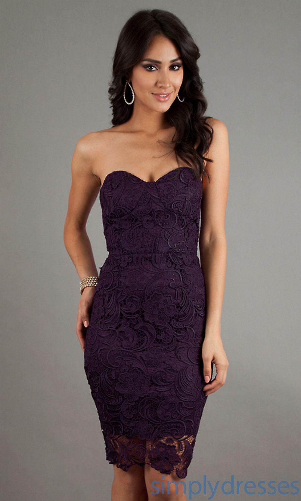 Short Strapless Sweetheart Lace Dress Short Dresses Strapless Lace Dress Formal Dresses Short [ 1666 x 1000 Pixel ]