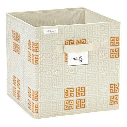 Sedafrance Cameo Key Collapsible Storage Cube 12x12x12 11 99 Collapsible Storage Cubes Cube Storage Key Storage