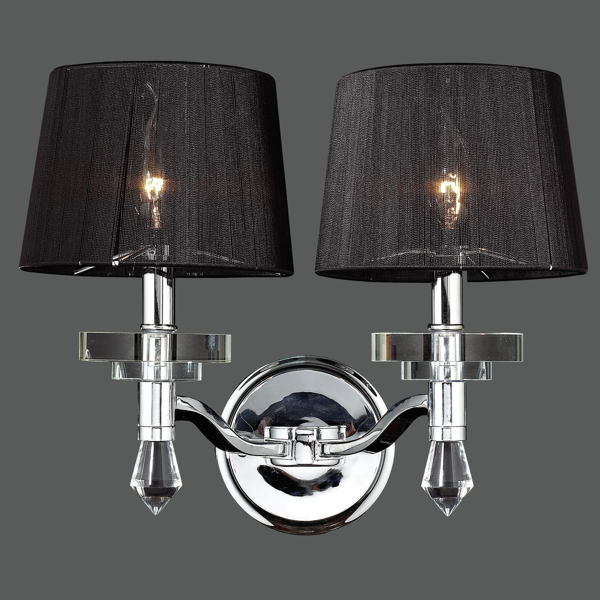 Sconces, Crystal Wall, Wall Sconces