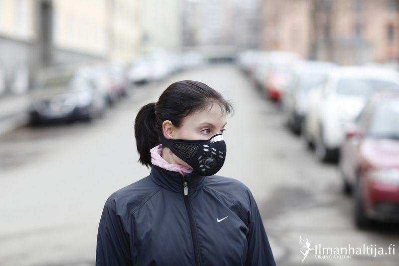 Hengityssuojain, Respro® Sportsta Mask Harrastuksiin ja liikkumiseen - Ilmanhaltija.fi verkkokaupasta