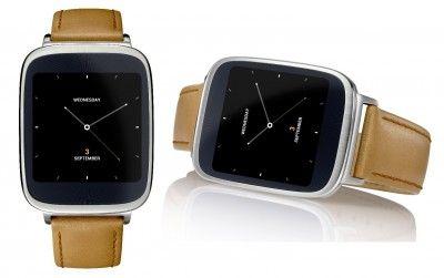 El reloj inteligente (smartwatch) ZenWatch de ASUS