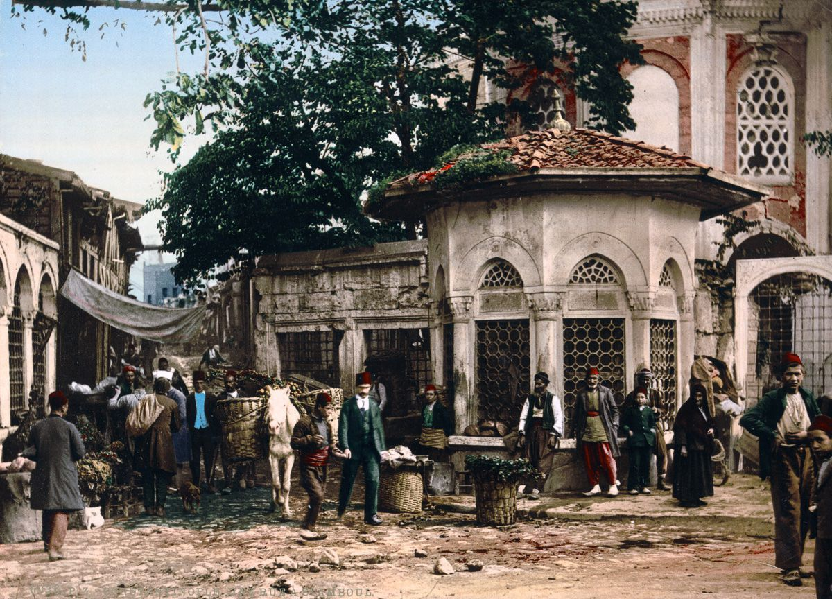 Spectacular color postcards of Istanbul, er, Constantinople circa ...
