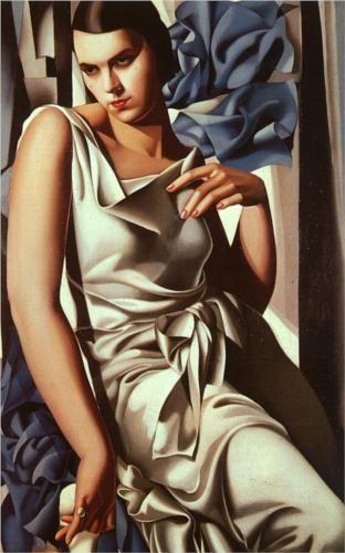 Portrait of Madame M. - Tamara de Lempicka