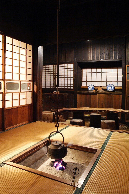 Japanese Country House Japanese Style House Japanese Tea House
