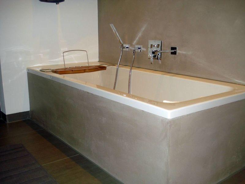 badezimmer-ohne-fliesen-fugenlos-badputz-5.JPG | Batt | Pinterest ...