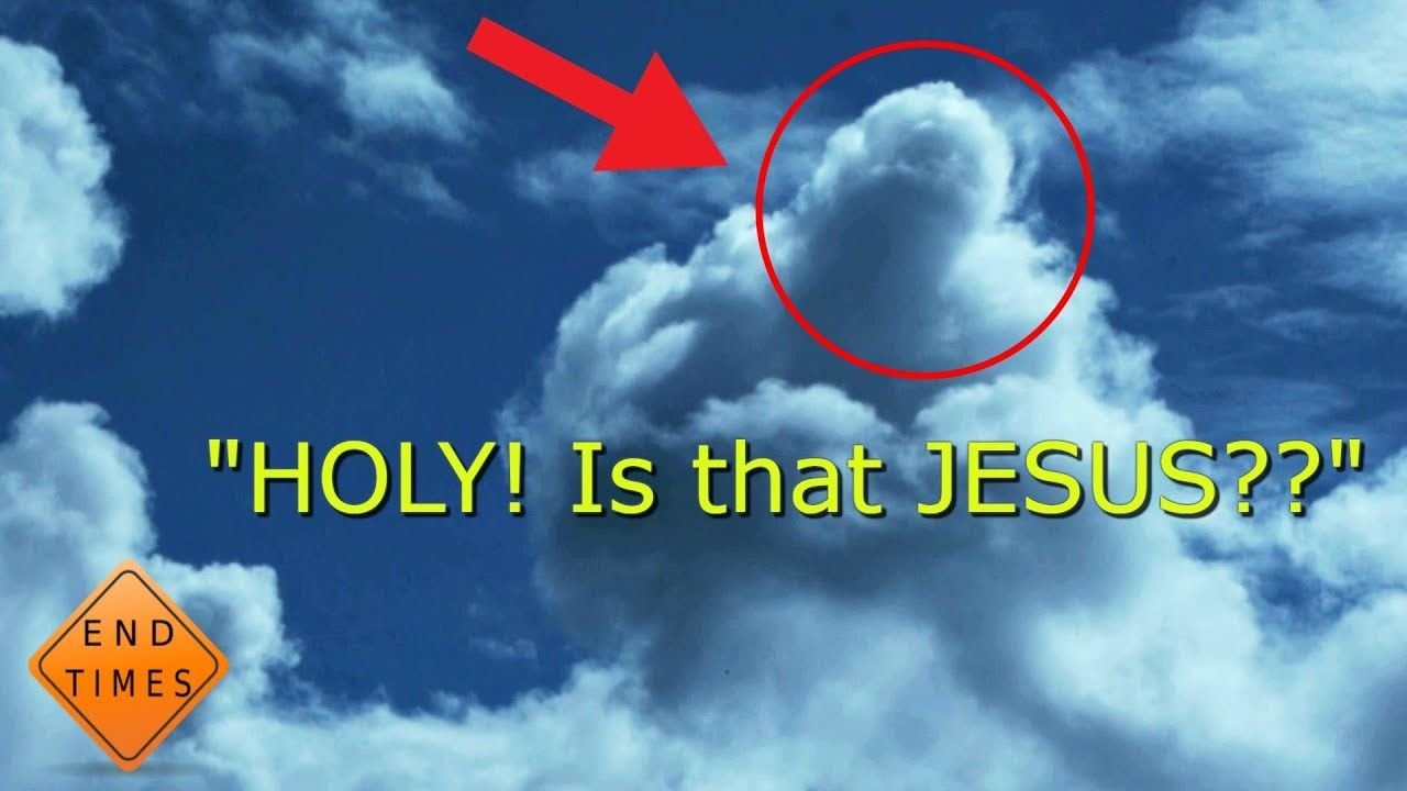 5 REAL Jesus Christs face caught on tape appearing in the sky. | Jesus  christ face, Jesus, Jesus videos