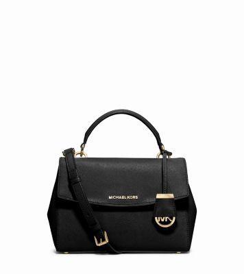 Ava Small Saffiano Leather Crossbody Bag   Michael Kors