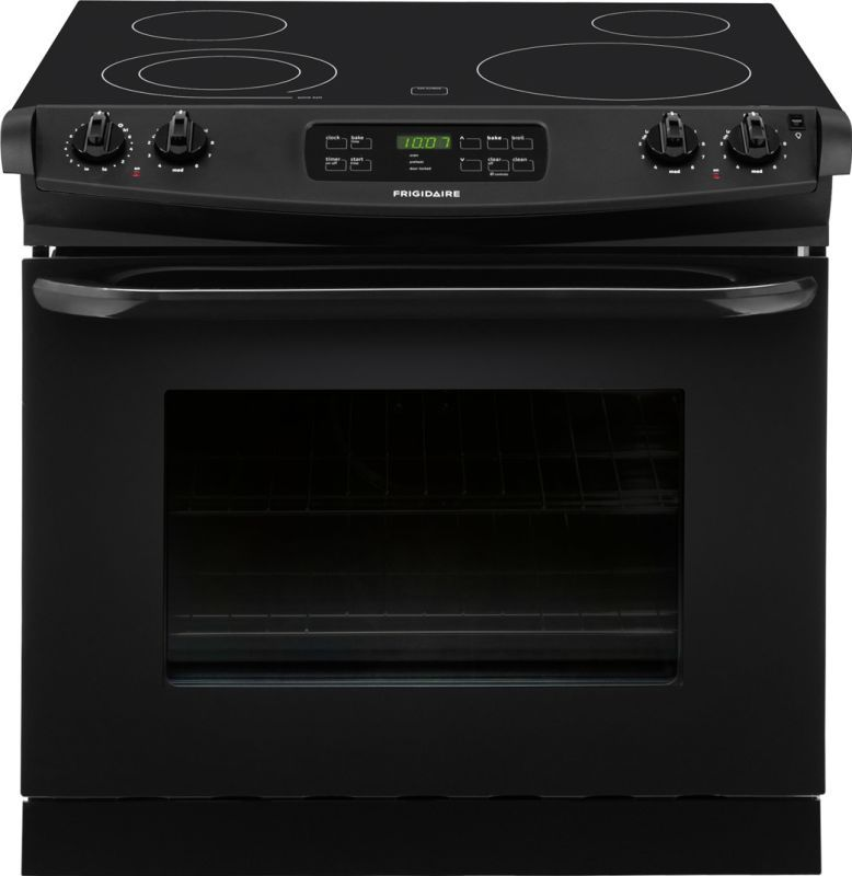 Frigidaire Ffed3025p 30 Inch 4 6 Cu Ft Drop In Smoothtop Electric Range With