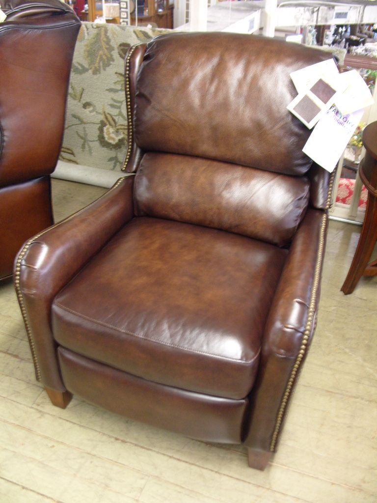 Flexsteel leather recliner regular price 1110.00 Ornate