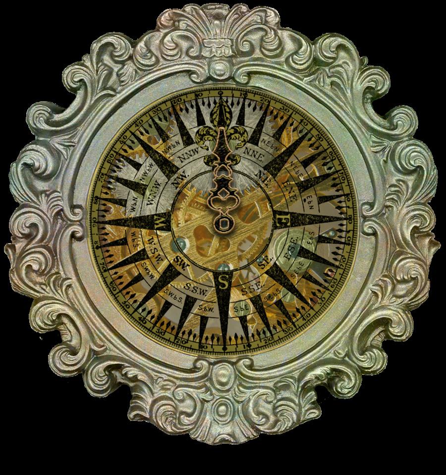 Ornate Framed Compass Created By Ekd Eveyd D4h0g26 900x958