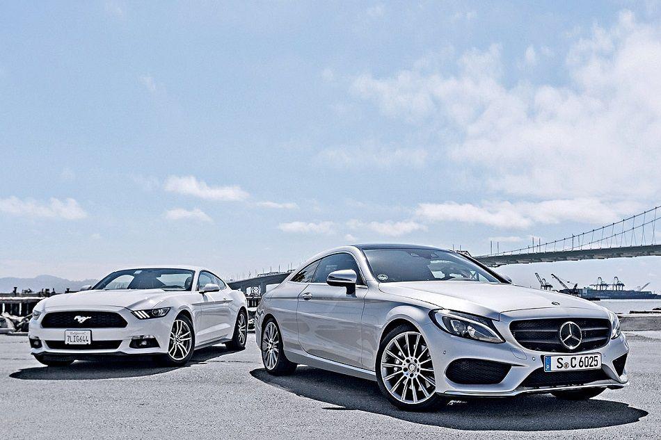 2016 Mercedes Benz C Class Coupe • recapCARS