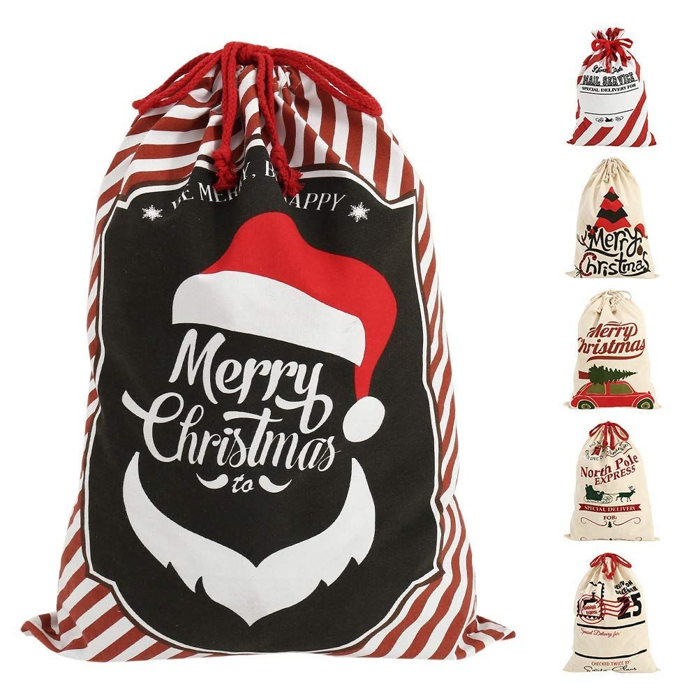 Huge Santa Sack XL Personalised Hessian Santa Sack