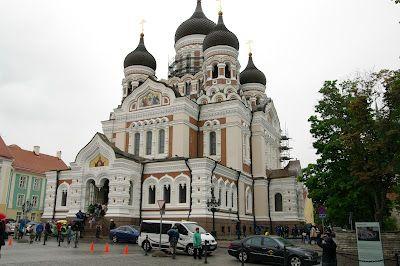 Orthodox church in Tallinn....