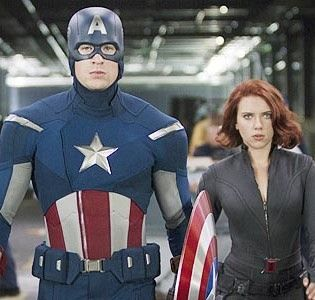 """""""The pairing is strange on paper, but you'll understand the pairing when you see 'Cap 2,'"""" Scarlett Johansson says of Black Widow and Captain America."""