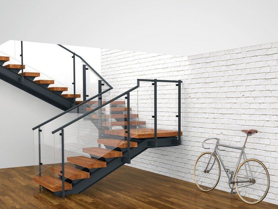 Best Tobu Double Spine Double Quarter Landing Stairs With 400 x 300