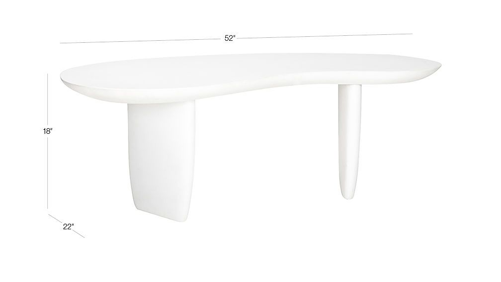 Jelly bean coffee table soldout reviews cb2