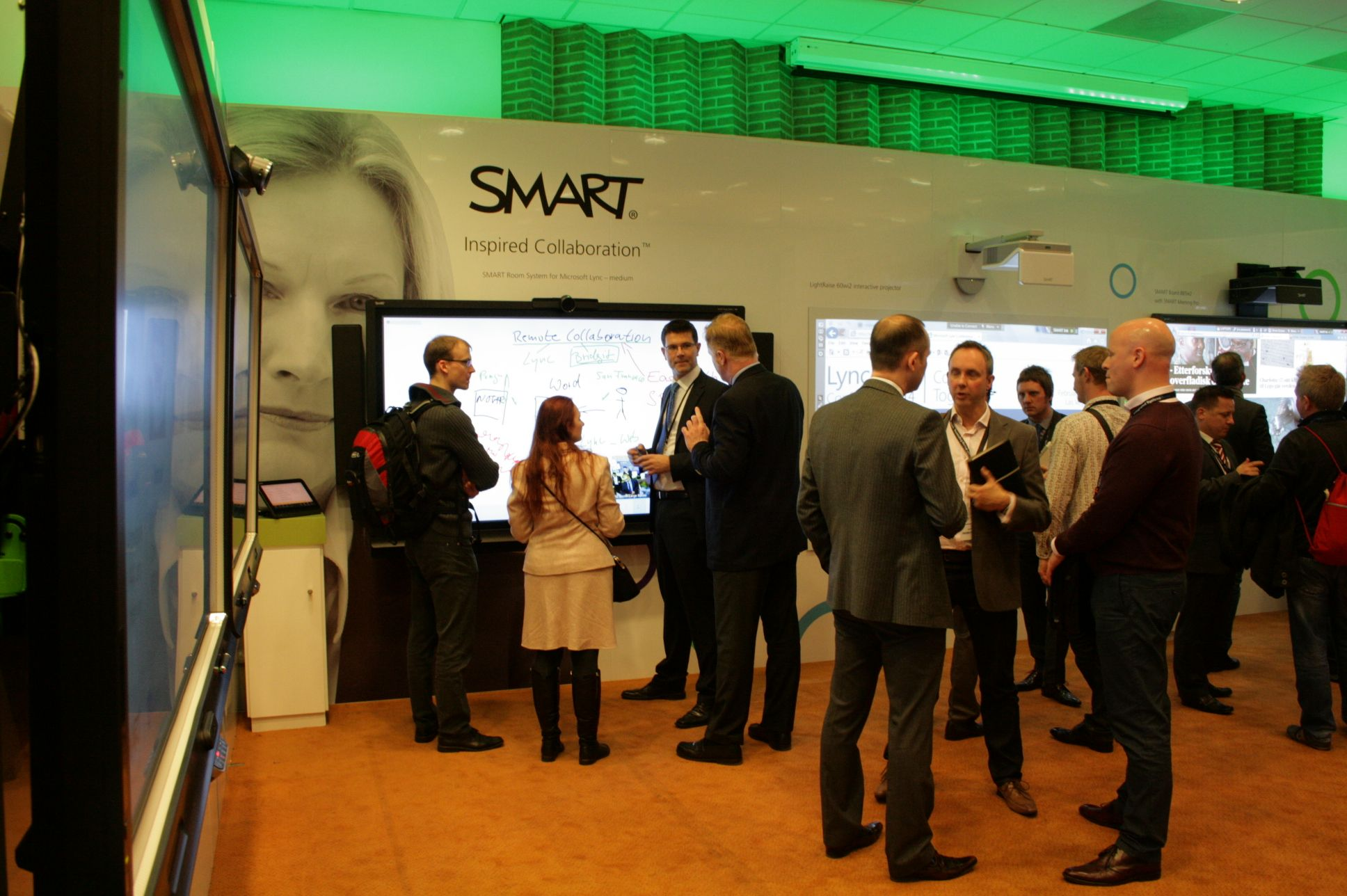 The new portfolio from SMART Technologies at ISE2014