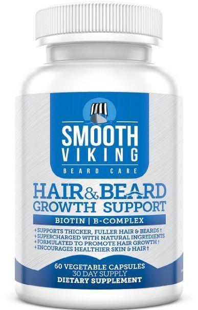 Smooth Viking Vitamin Supplement | Hair | Best hair growth vitamins