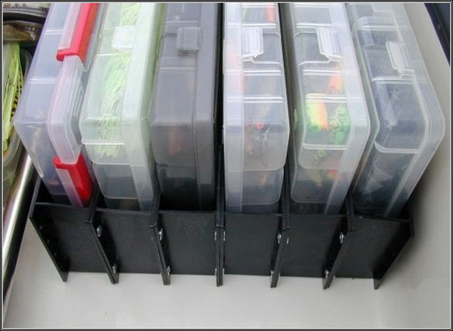 Boat Tackle Organizer System