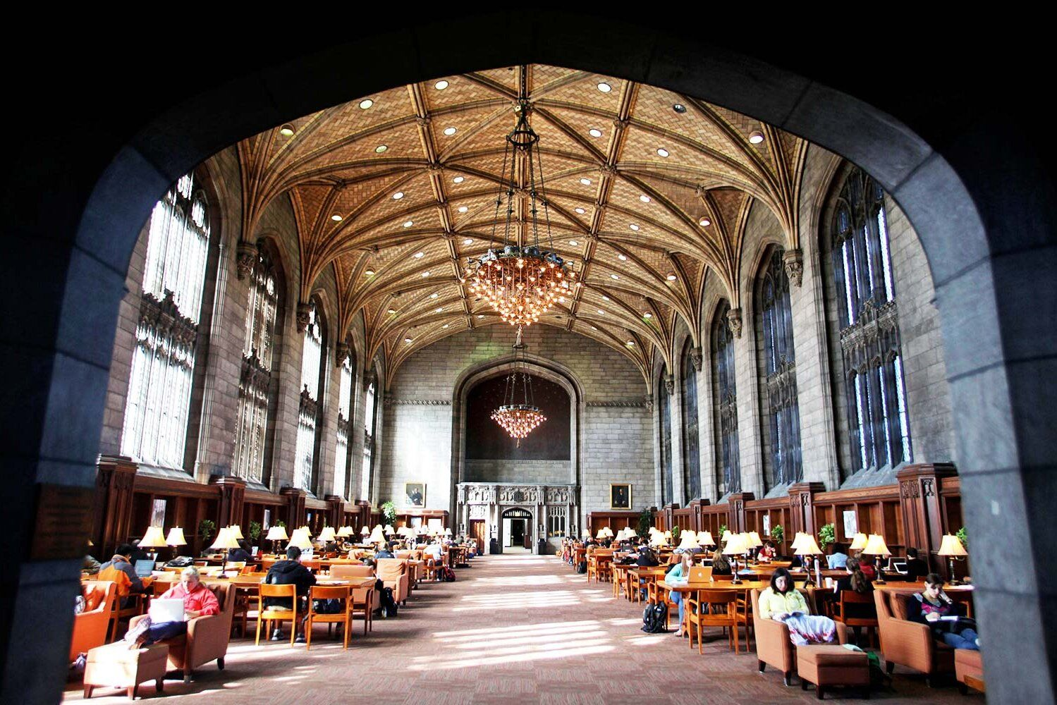 America S Most Beautiful College Libraries College Library Chicago University Loyola University Chicago