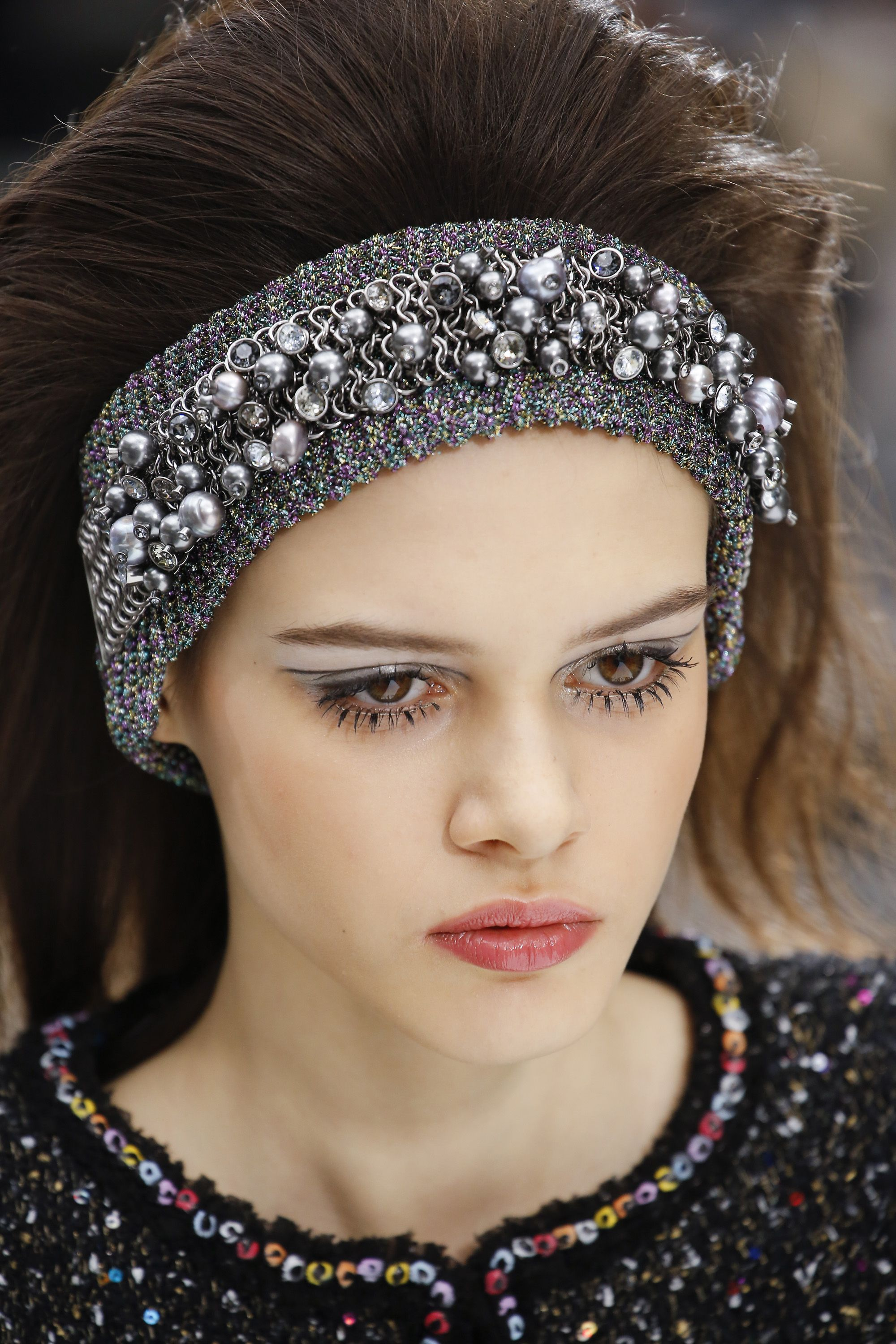 Autumn/Winter 2017 Backstage Beauty Chanel fall 2017