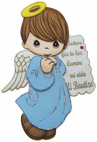 Angel bautismo