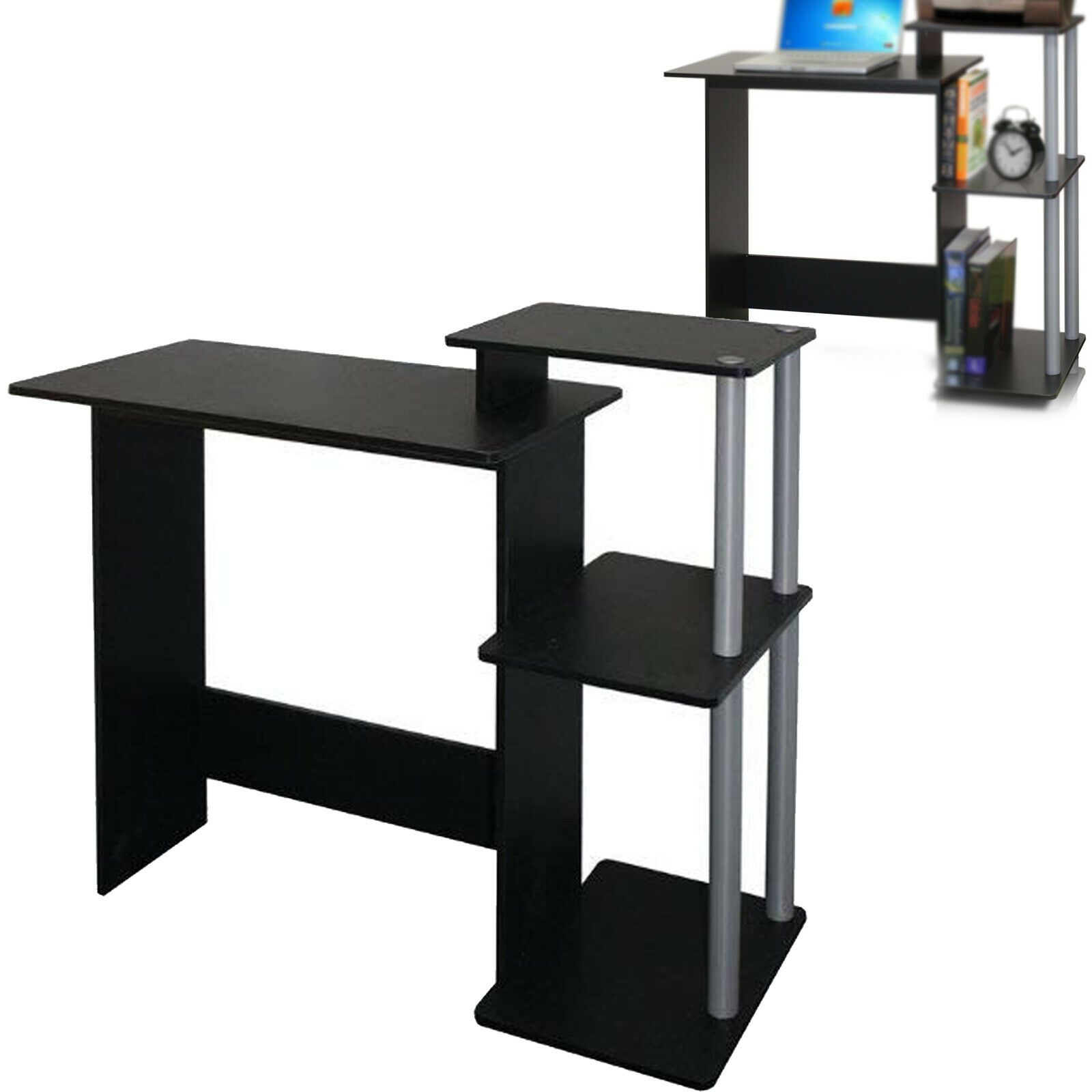- COMPUTER DESK TABLE Laptop Small Workstation Home Office Compact