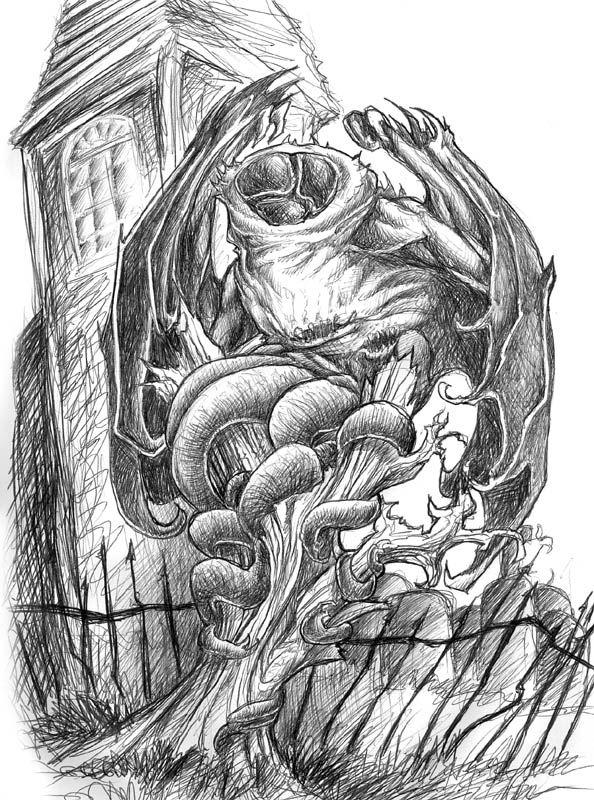Haunter Of The Dark Arkham Horror Monsters Cthulhu Lovecraftian