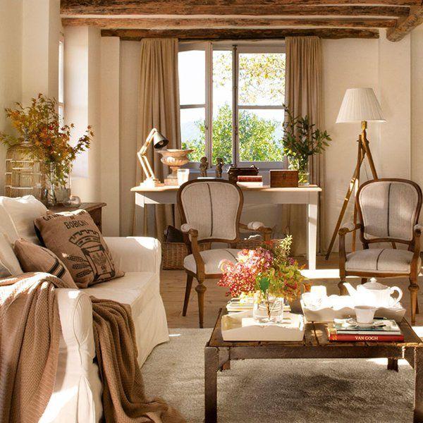 De pajar en ruinas a casa de campo vital sala de estar for Sala de estar kawaii