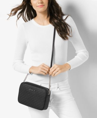 8f234762acc3 MICHAEL Michael Kors Signature Jet Set Item Large East West Crossbody  $148.00 Stylish for weekend wandering or a day at the office, this MICHAEL  Michael ...