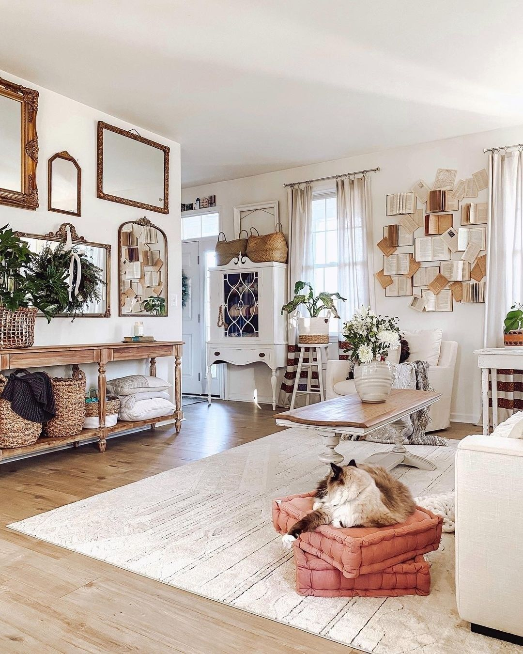 Decorsteals Shared A Photo On Instagram Giveaway Time Raise Your Hand If You Are Loving In 2021 Whimsical Living Room Farmhouse Decor Aesthetic Room Decor Whimsical living room decor
