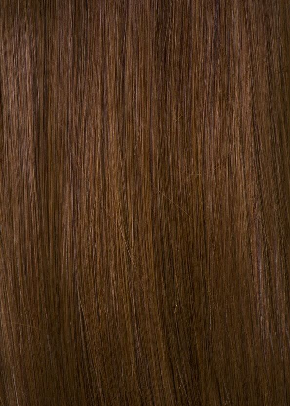 6 Auburn Brown Ds Secret Wire Human Remy Hair Extensions