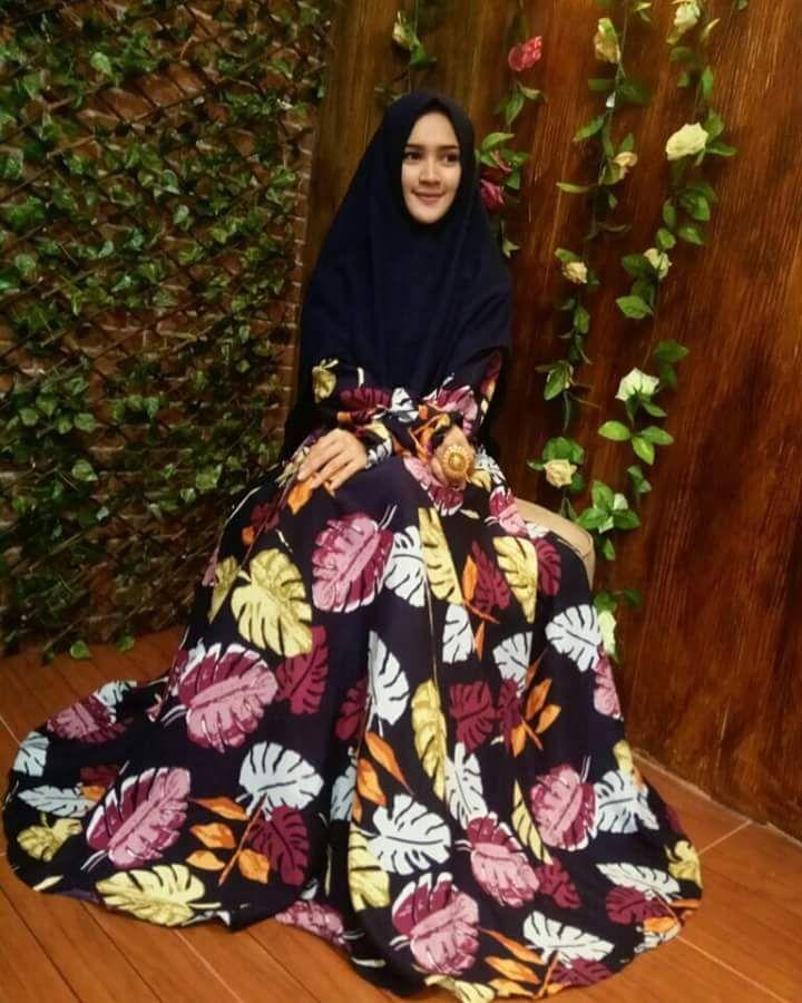 Pin Di Gamis Anak Remaja Terbaru 2018 Batik Brokat Katun Jepang