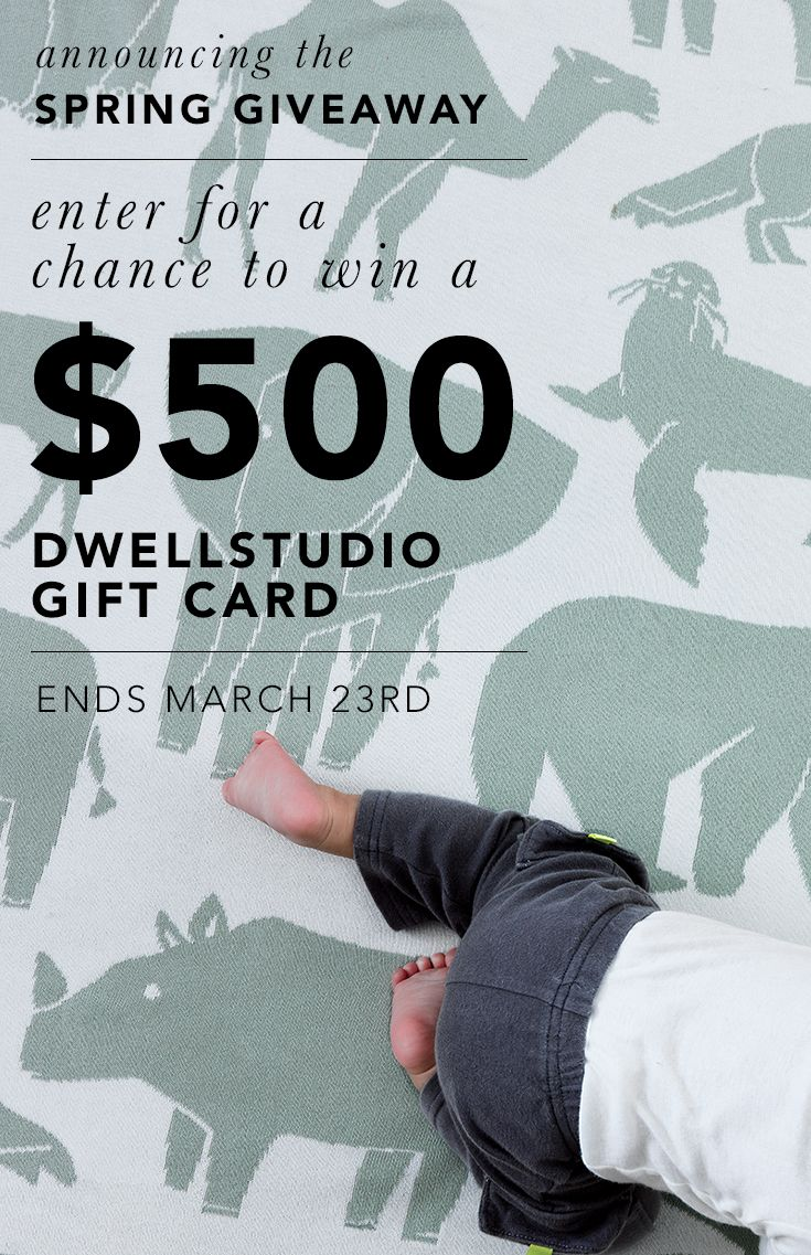 Don't miss the chance to enter our $500 Spring Giveaway! Ends midnight 3/23.