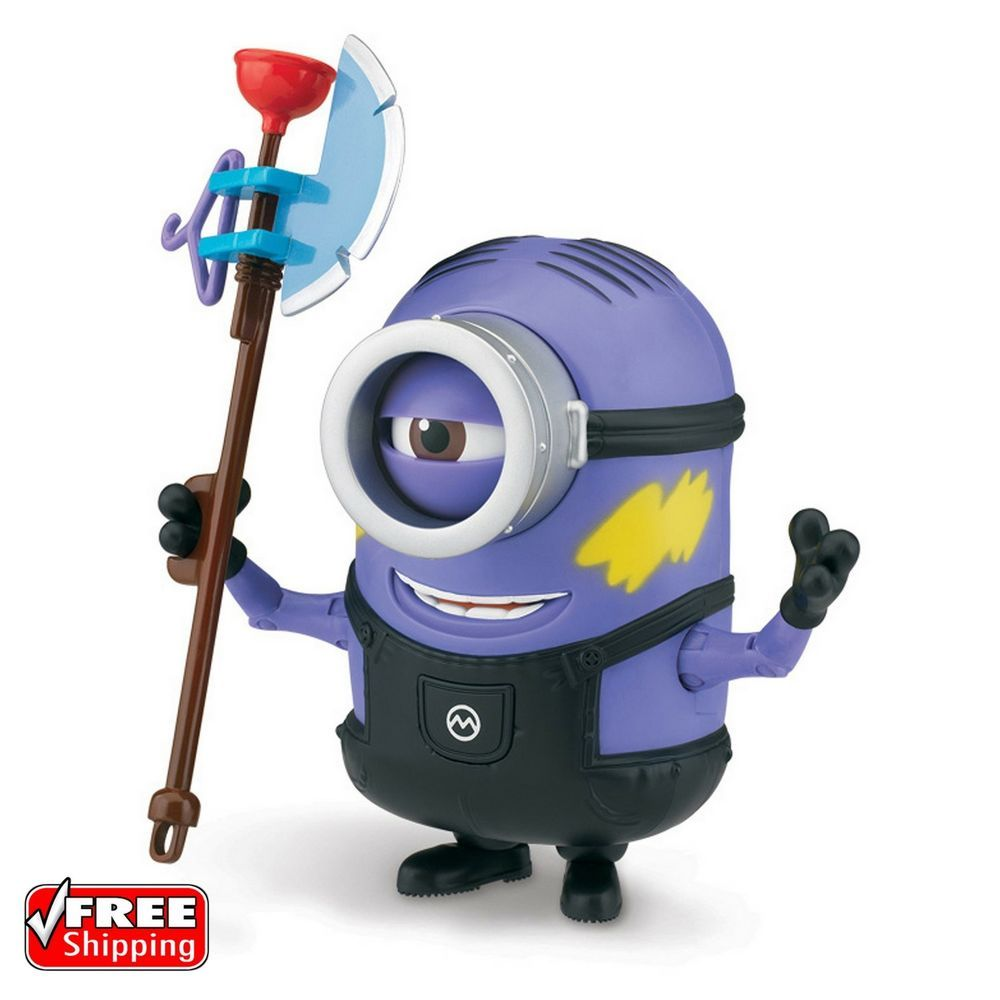 Universal Studios Despicable Me Soldier Minion Plush New with Tags