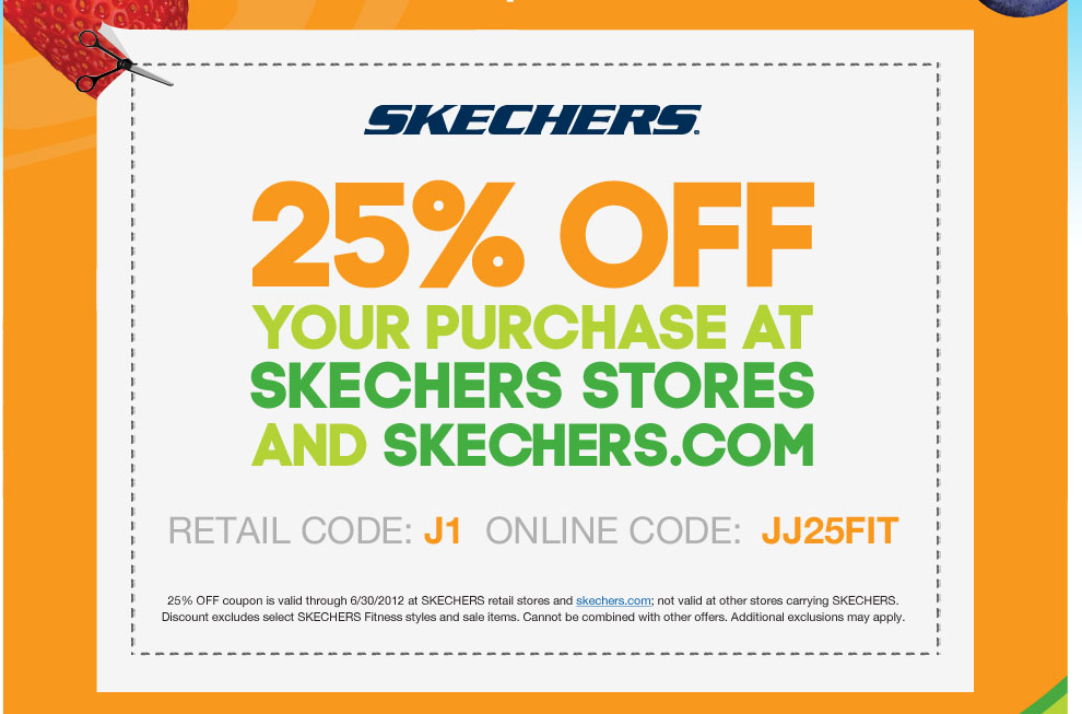 Sketchers Deal Printable Coupons Coupons Skechers