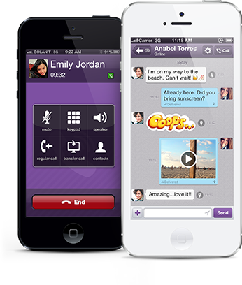 Today's #appoftheday is #Viber  With #Viber for #iOS, you