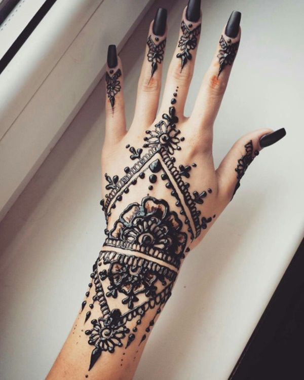 43 Henna Wrist Tattoos Design: Henna Tattoo Designs
