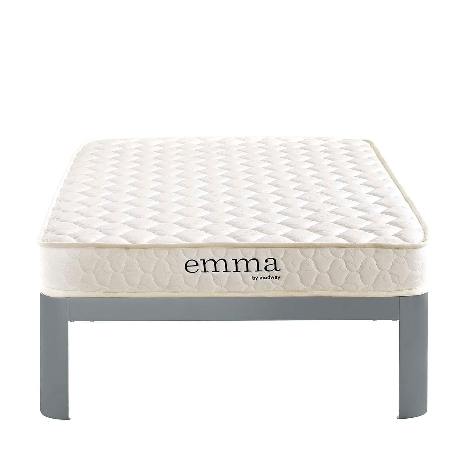 modway emma 6 twin xl mattress black night twin xl mattress twin