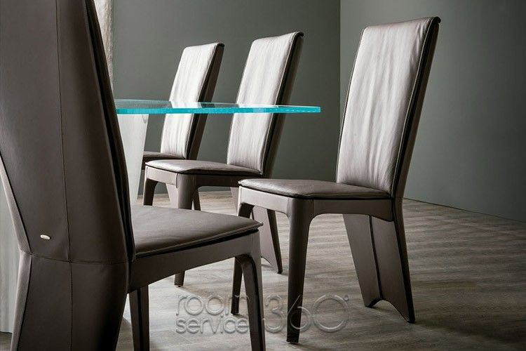 Room Aurelia Leather Dining Chair