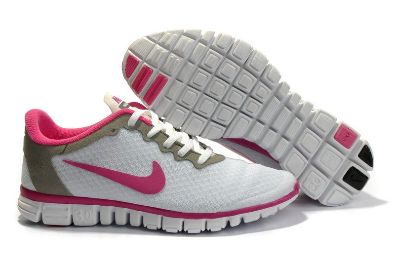 new style 7b0f7 7ef88 Nike Free 3.0 V2 Running Shoe White Pink Women   Nike Free 3.0 V2 For Women  Free Shipping   Pinterest   Air max, Rose and Max 2015