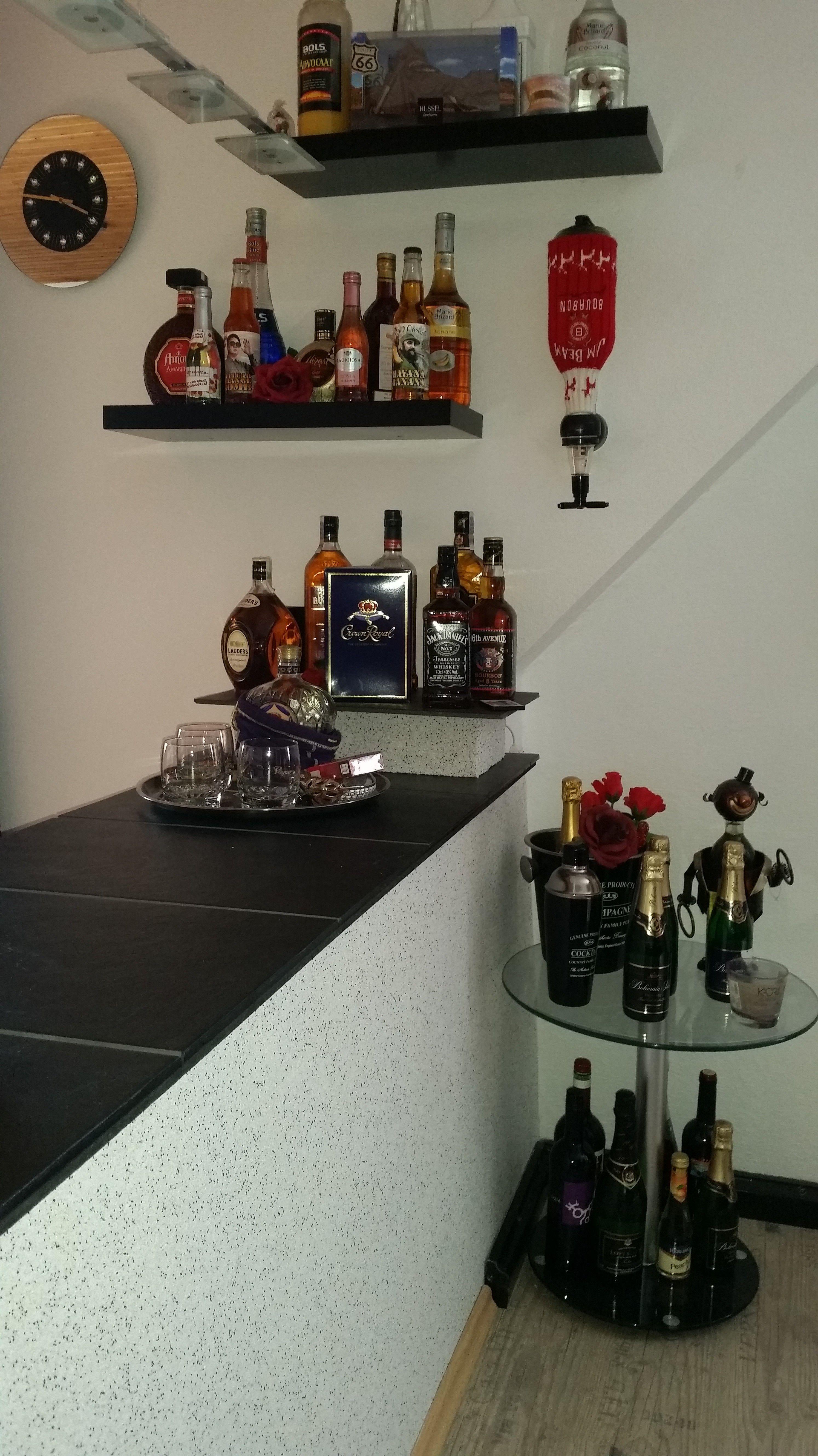 Buntsteinputz für meinen Raumteiler http://www.mytraveldiaryusa.de ...